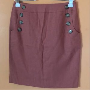 Linen Sailor Skirt